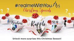 KV realmeWithYou Christmas special promo