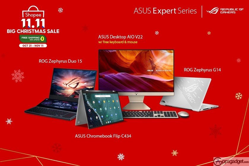 ASUS Shopee 11.11 List of Items For Sale in ROG and ASUS Expert Series