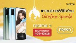realme 7i Christmas Specials New Variant
