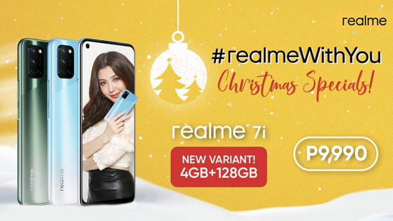 realme 7i Christmas Specials New Variant