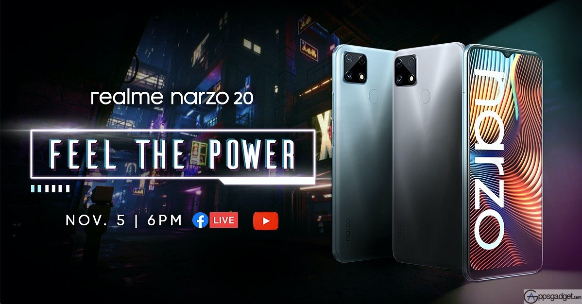 realme milestone with 50 Million Users worldwide and Preview with the realme Narzo 20 Launch on November 05