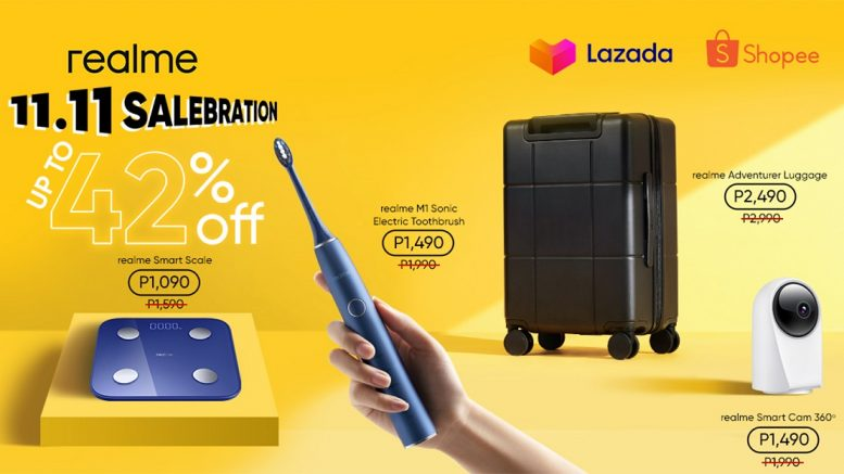 realme PH launches new smart home devices available at the brands 11.11 sale with promos of up to 42 off