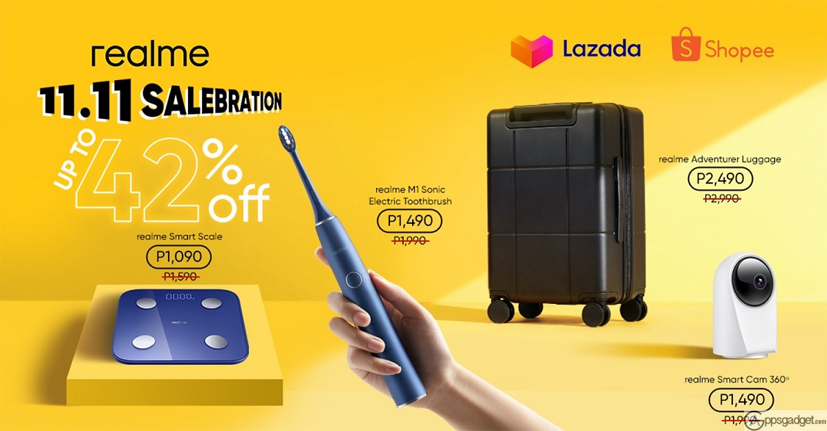 realme PH launches AIoT Smart Home Devices on 11.11 Sale up to 42% off in Lazada and Shopee