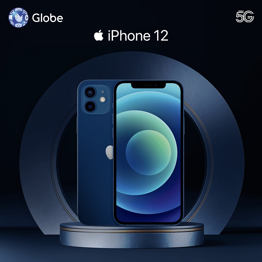 Globe iPhone 12 Pre-Oder Powered with Globe 5G from ThePLAN 1799