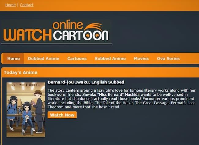 free cartoon streaming sites