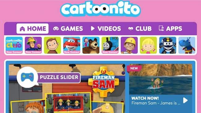 cartoon streaming sites online
