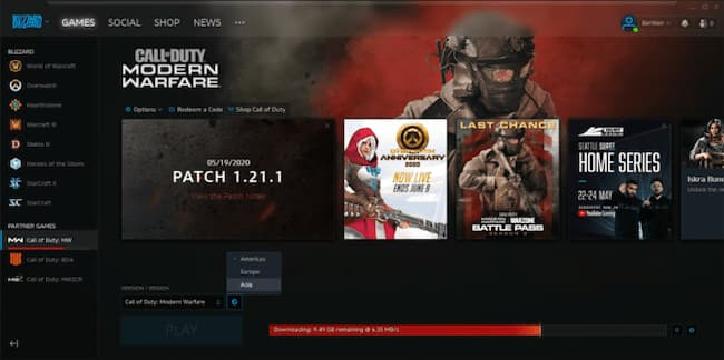 fix modern warfare unable to access online services error
