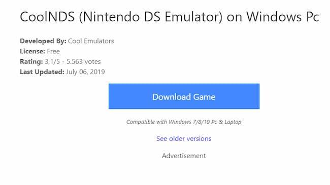 nds emulators for windows