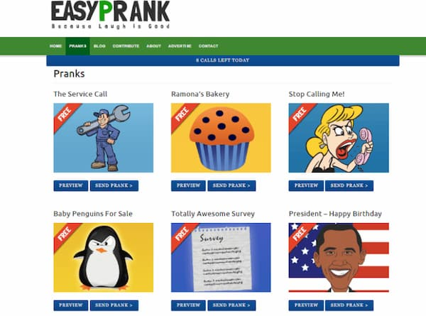 prank calling websites free