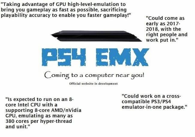 ps4 emulator download