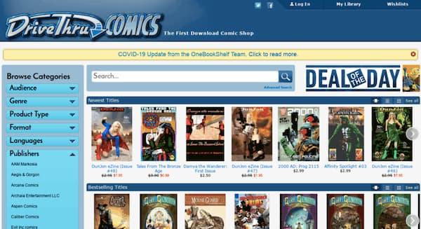 read comics online free