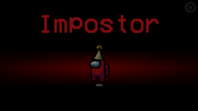 Among us: how to become imposter