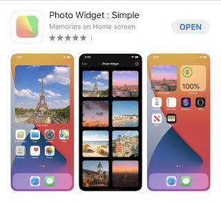 Custome photo widget in iOS 14