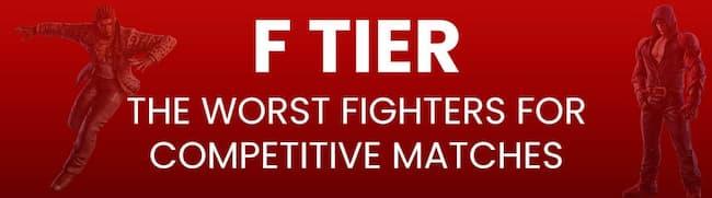 Tekken-7-Tier-List-F-Tier