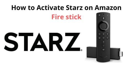 activate.starz.com code