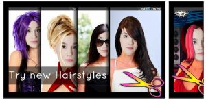 best hairstyle app android