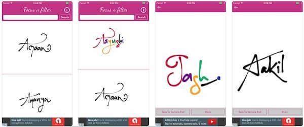 calligraphy font app