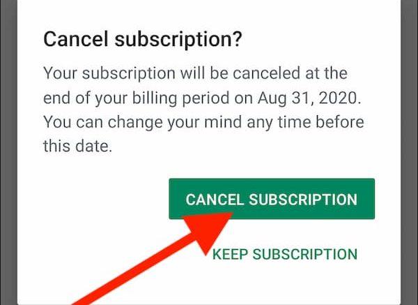 how can i cancel my cbs all access account