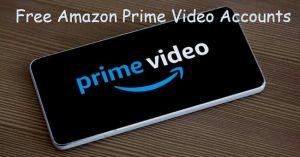 free amazon prime video accounts