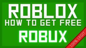 how do you get free robux 2020