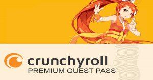 How to get Crunchyroll Guest Pass