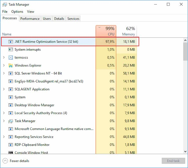 What Is .NET Runtime Optimization Service