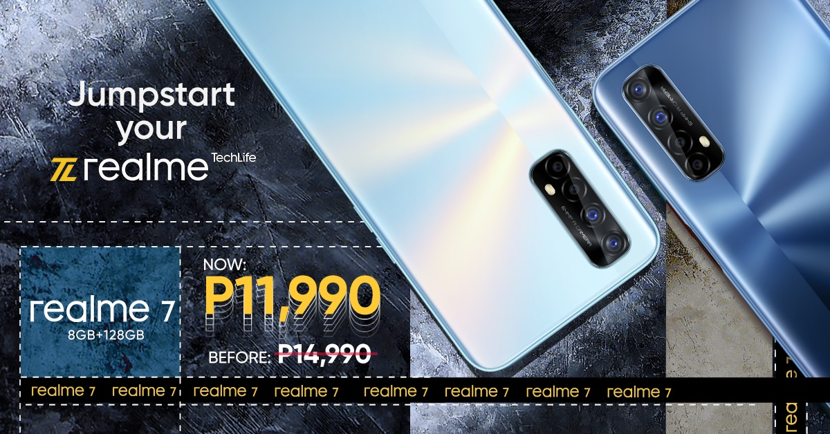 realme 7 Price Slashed at Php 11,990 Only