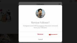 instagram removing followers