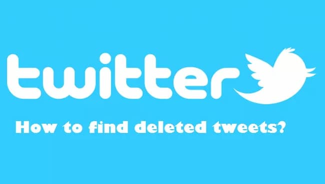 how to see deleted tweets