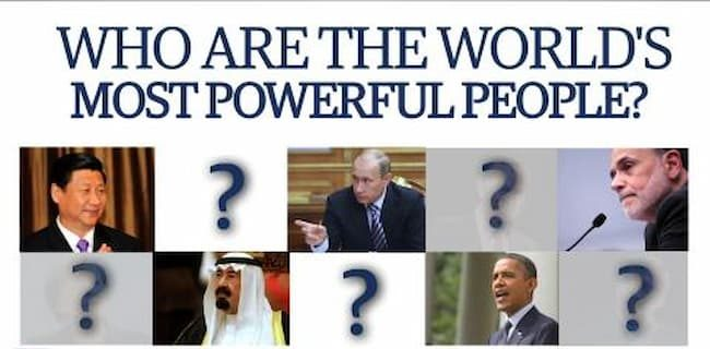 most powerful people in the world