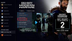 call of duty modern warfare directx error