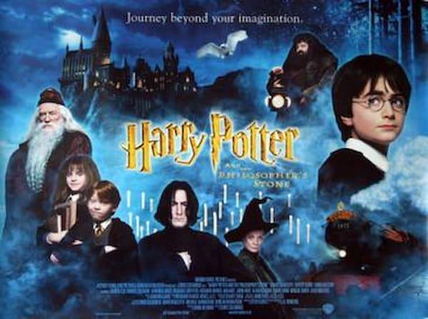 all harry potter movies in order