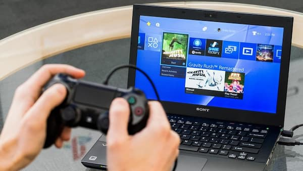 how to connect ps4 to laptop
