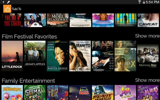 free tv apps for iphone