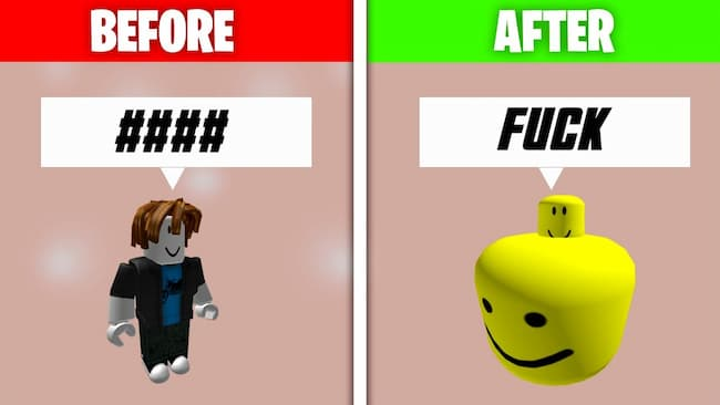 Say Bad Words in Roblox