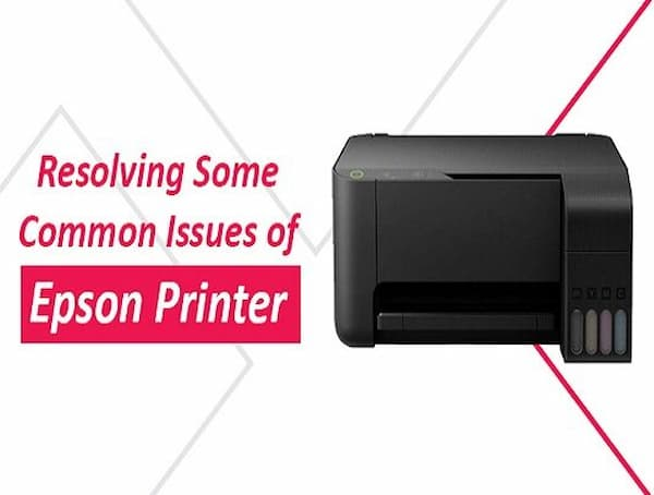 printer not printing black epson