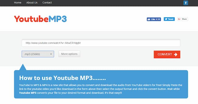 youtube to mp3 opera extension
