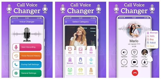 call voice changer online